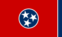 Flagge Tennessee